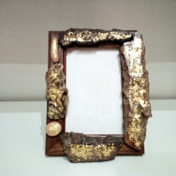 Cornice regalo Wood Gold